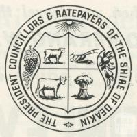 Shire of Deakin Crest, 1965