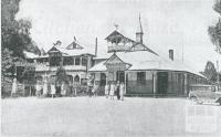 Blacks Spur Hotel and Narbethong House, 1931