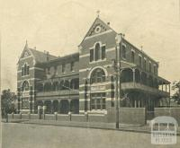 St Joseph's Boys College, Queensberry Street, North Melbourne, 1930