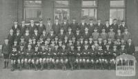 St Joseph's Boys College, Sixth and Junior Classes, North Melbourne, 1930