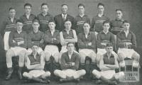 St Joseph's Boys College, Senior Football Team, North Melbourne, 1930