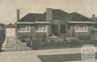 Bentleigh Residence, 1946