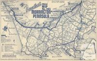 Map Mornington Peninsula, 1949