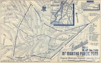 Map Mount Martha Public Park, 1949