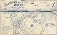 Map Dromana, 1949