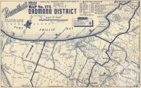 Map Dromana District, 1949