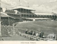 Cricket Ground, Melbourne, 1900