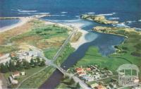 Merri River mouth, Warrnambool, c1960