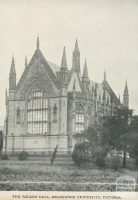 Wilson Hall, Melbourne University, Parkville