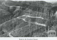 Roads in Strzelecki Ranges, 1946