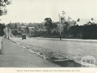 Toorak Road, Malvern, 1912