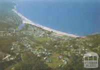 Aerial view of Lorne