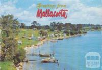 Foreshore Camp Park from Captain Stevenson's Point, Mallacoota