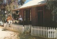 Iron House, Pioneer Settlement (example of prefabricated portable iron houses sent from England in 1854 to alleviate housing shortage), Swan Hill