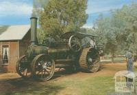 Fowlers Ploughing Engine, Pioneer Settlement, Swan Hill