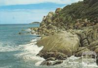 Rugged coastline, Whisky Bay, Wilson's Promontory