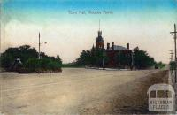 Town Hall, Moonee Ponds, c1910