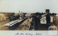 Murtoa Railway Station, c1909