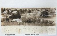 Panorama of Traralgon, c1920