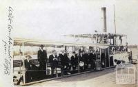 River Steamer Dargo, c1905