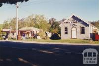 Molesworth Hall and general store, 1997