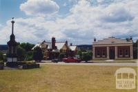 War Memorial, Post Office and Library, Bruthen, 1998