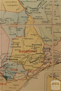 Bairnsdale shire map, 1924