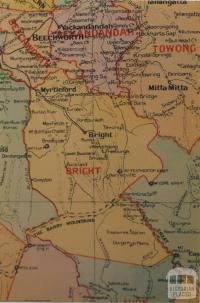 Bright shire map, 1924