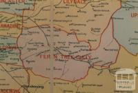 Fern Tree Gully shire map, 1924