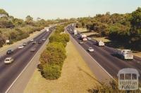 Monash Freeway from Stephensons Road, towards Melbourne city 2000