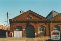 Newport railway workshops, 2000