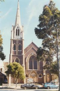 Presbyterian Church, Curzon Street, North Melbourne, 2000