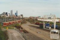 West Melbourne Rail Yards from Dynon Bridge, 2000