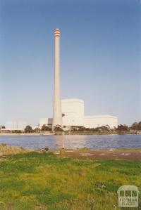 Newport Power Station from Wlliamstown Road, Port Melbourne, 2000