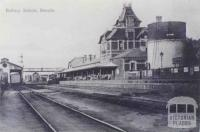 Railway Station, Benalla, 1910