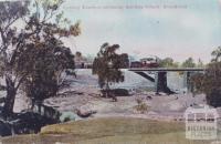 Sydney Express crossing Sunday Creek, Broadford, 1907