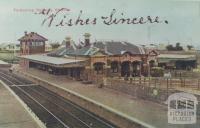 Footscray Railway Station