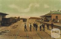 Willaura Railway Station, 1908