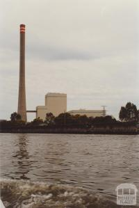 Newport Power Station from River, 2000