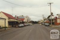 High Street Trentham, looking east, 2000