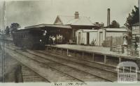 Maffra Railway Station, 1926