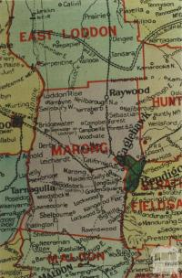 Marong shire map, 1924
