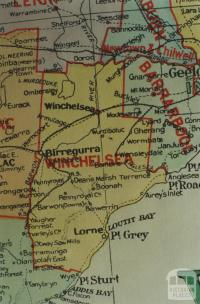 Winchelsea shire map, 1924