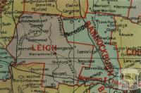 Leigh shire map, 1924