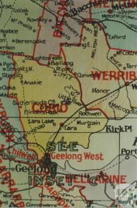 Corio shire map, 1924