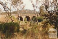 Harcourt Rail Bridge, Barkers Creek, 2001