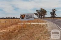 Central Goldfields Shire sign, 2001
