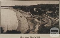View from Oliver's Hill, 1918