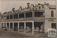 Frankston House, 1918