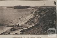 Looking towards West Head, Flinders, 1918